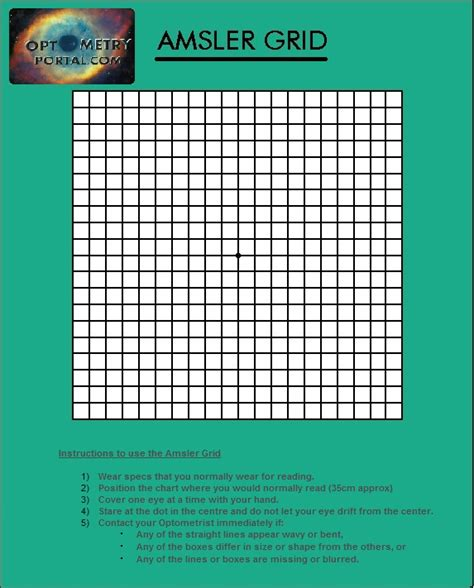 printable eye chart with instructions amsler grid related keywords suggestions amsler grid