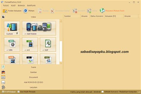 format factory full terbaru download format factory v3 8 terbaru full version sabadi