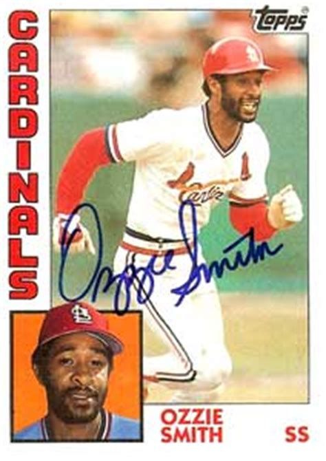 do they still make baseball cards ozzie smith awards by baseball almanac
