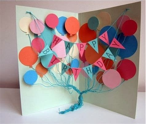 How To Make A Paper Birthday Card - popular diy crafts how to make your own birthday cards