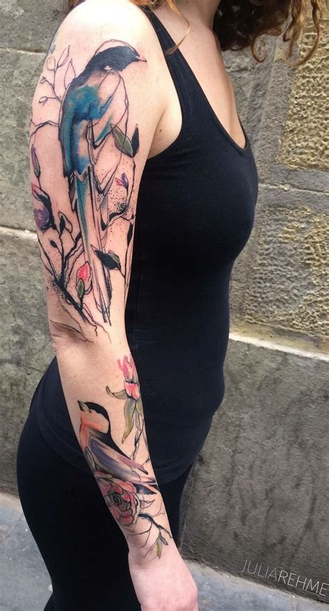 bird arm tattoo 17 best ideas about bird sleeves on