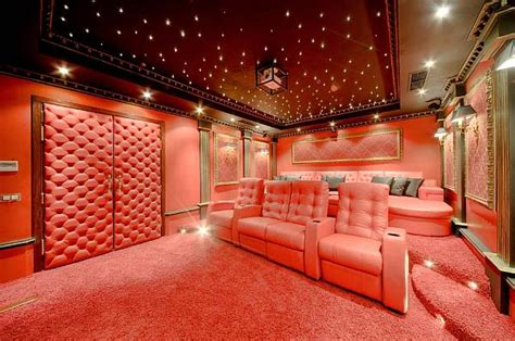 Luxury Cinema Room by Luxury Penthouse In Malta New Heights Of Extravaganza