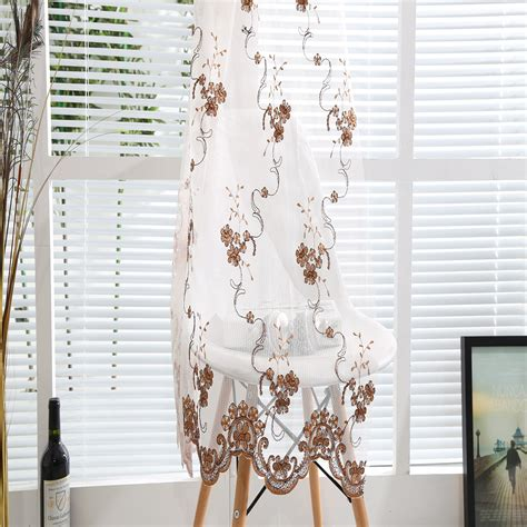 wholesale curtain wholesale arabian curtain design golden floral embroidered