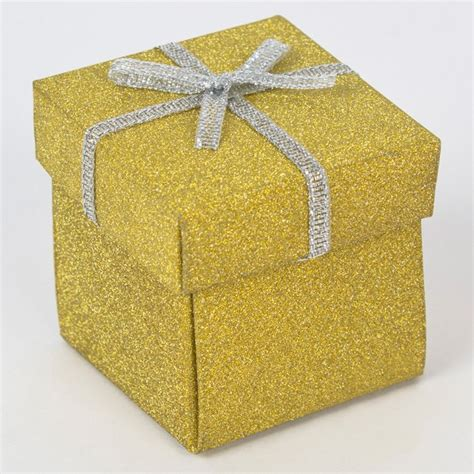 Small Gift Boxes Card Factory - gold glitter gift box small only 49p