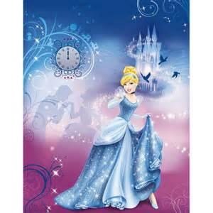 Cinderella Wall Mural Disney Princess Cinderellas Night Large Photo Wall Mural