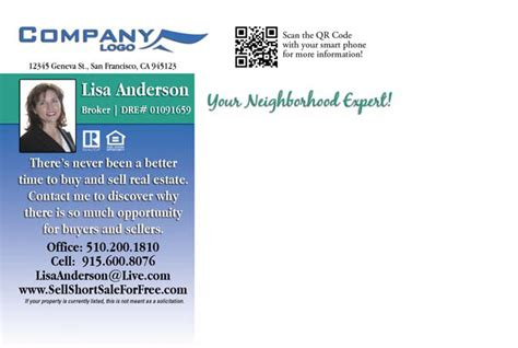Real Estate Post Card Template Expired Free by Just Listed Postcards By Printerbees