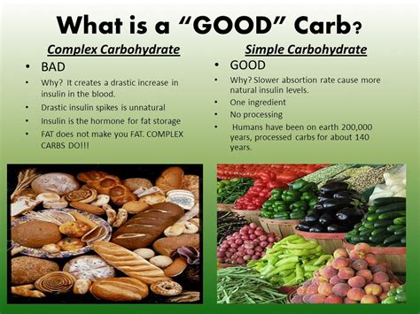 what foods are carbohydrates jenn thrift fitness carbs bad carbs