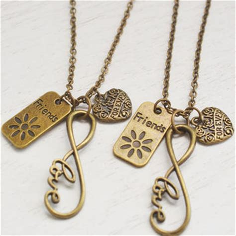 infinity bff necklace best bff infinity necklaces products on wanelo