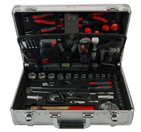 cassetta attrezzi completa usag prodotto valigetta in pvc completa di 128 utensili manuali