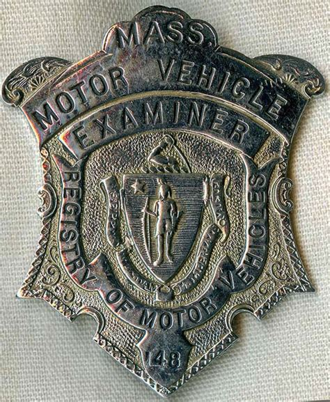 motor vehicle badges flying tiger antiques store 1950 s 60 s ma