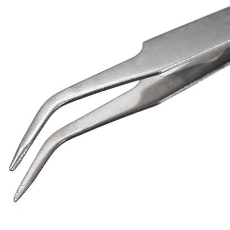 Pinset Bengkok jual ts 15 pinset bengkok runcing curved tip tweezers