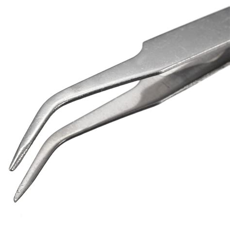 Pinset Bengkok jual beli ts 15 pinset bengkok runcing curved tip