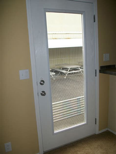 Patio Single Door by Quality Construction Park Model Homes Washington
