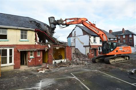 Demolishing A House by Battling Grandmother S Aberystwyth Home To Be Demolished