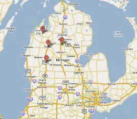 Northern Michigan Map by Map Of Northern Michigan Lakes Pictures To Pin On
