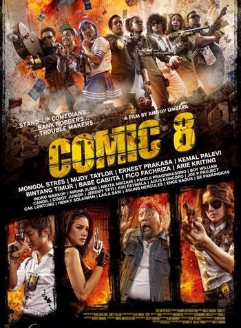 film ggs ke dua jumlah penonton comic 8 di hari kedua tayang