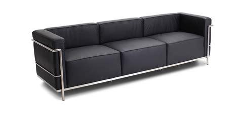 divani similpelle divano lc3 3 posti similpelle