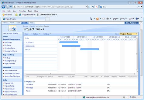 Intelligantt Publish Ms Project 2010 Tasks To Sharepoint 2007 Sharepoint Task List Template