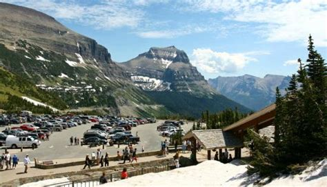 the glacier park reader national park readers books logan pass visitor center picture of glacier national