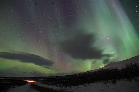 Solar Northern Lights Northern Lights Borealis Solar Wind