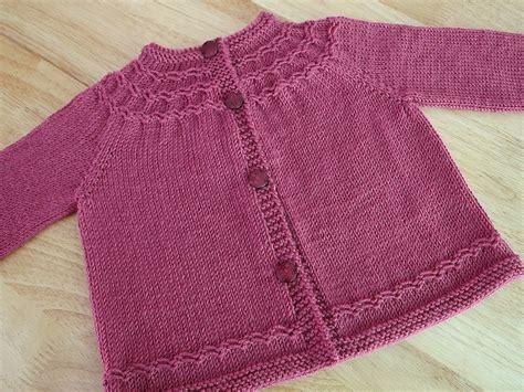 knit seamless sweater pattern seamless knitted yoked baby sweater free knitting pattern