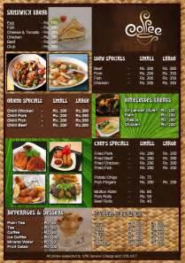 design menu restaurants restaurant menu design that can give you inspiration home design