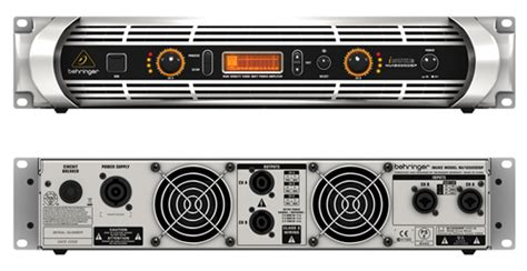Behringer Nu12000dsp Power Lifier 12000 Watt With Dsp And Usb power lifier 12 000 watt behringer inuke 12000dsp