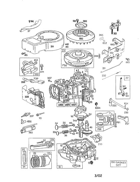 briggs and stratton engine parts diagram briggs stratton engine parts and diagrams automotive