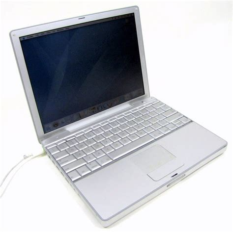 Laptop Apple Powerbook G4 apple powerbook g4 12 quot silver 10 4 2 laptop a1104 mac os x