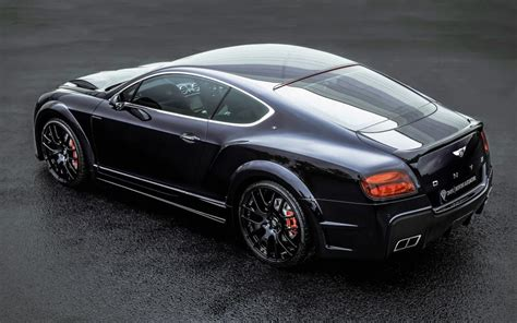 black bentley back bentley continental gt onyx black car back view wallpaper