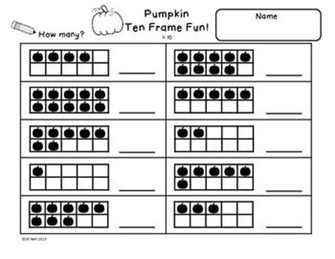 Ten Frame Worksheet by 1000 Images About Math Ten Frames On Number