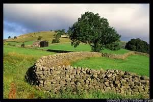 Landscape Pictures Uk Walls Winding Through The Landscape Of