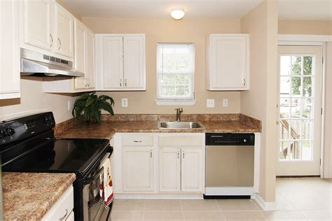 White Cabinets by Brown Kitchen Cabinets To White Quicua