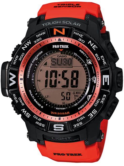 Prw3500y Casio Protrek prw3500y 4 mens digital analog sport casio pro trek with pathfinder technology