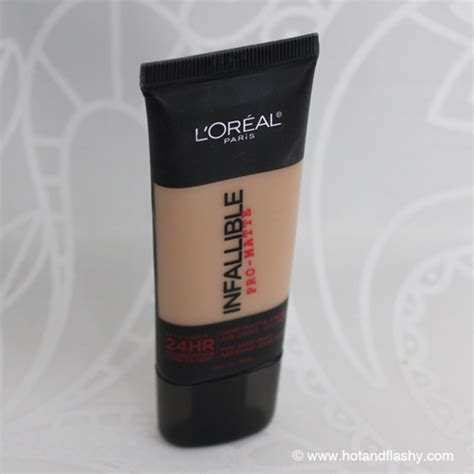 Foundation Loreal Infallible Pro Matte foundation friday for 50s 4 l oreal infallible