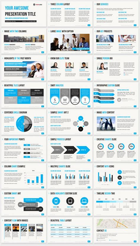 one slide presentation template 25 best ideas about professional powerpoint templates on