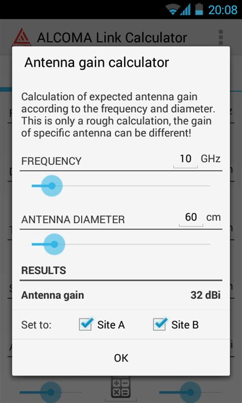 calculator level 72 alcoma link budget calculator android apps on google play