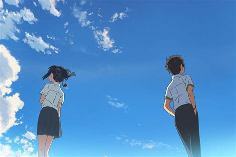 your name movie review japanese anime mixes genres