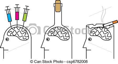 test dipendenza fumo vettore di alcoholism droga dannoso abitudini health