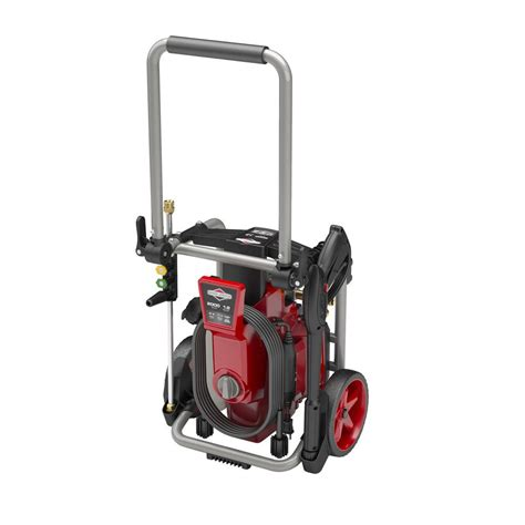 electric pressure washer induction motor briggs stratton 2000 max psi 1 2 max gpm electric pressure washer with induction motor and