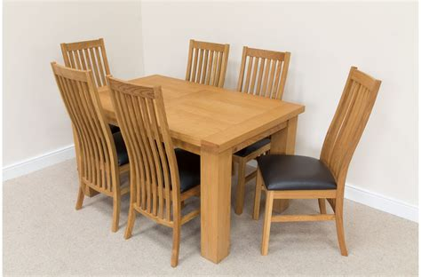 solid oak dining table and chairs uk table designs