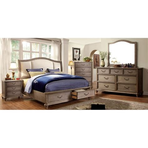 furniture of america bedroom sets furniture of america bartrand 4 king bedroom set