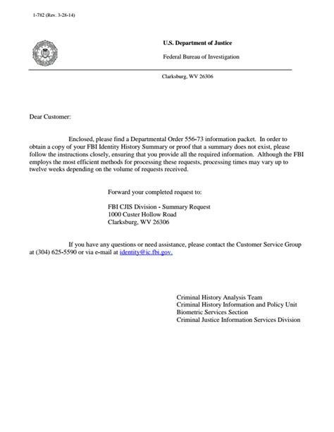fbi cover letter fbi cover letter