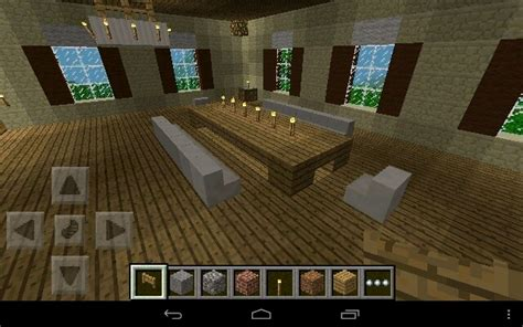 How To Make Dining Room In Minecraft Minecraft Dining Table Minecraft Ideas