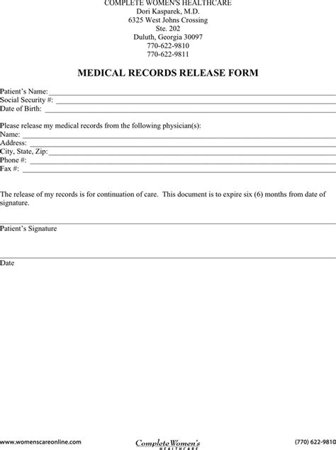 Ga Records Records Release Form 3 For Free Tidyform