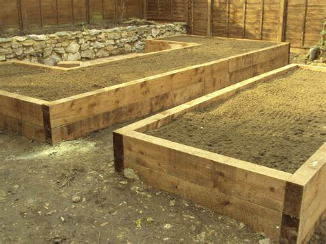 Curved Railway Sleepers by Back Gardens Acorns Landscapes