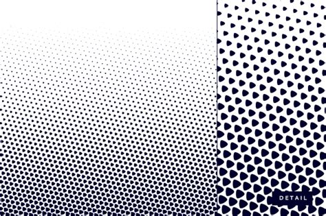 triangle halftone pattern rounded triangle half tone pattern graphics on creative