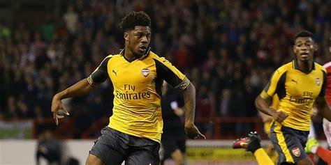 Detiksport Arsenal   demi menit bermain penyerang muda arsenal ini siap jadi