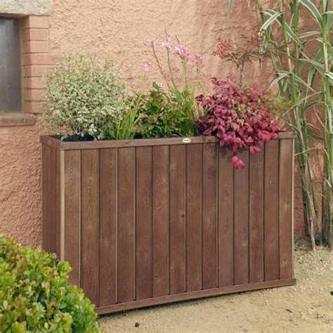 High Planters by Design High Rectangular Wooden Planter Buy Design High