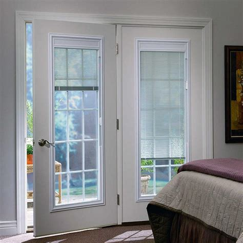Patio Doors Ta Exterior Doors With Built In Blinds